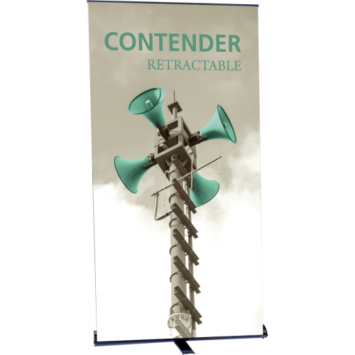 Contender Monster Retractable Banner Stand