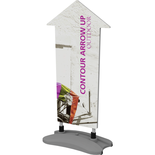 Contour Outdoor Sign Arrow Up - Water Base