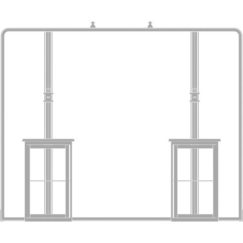 Hybrid Pro 10ft Modular Backwall Kit 06