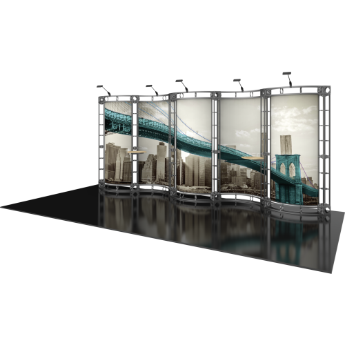 Hydrus Orbital Express Truss 20ft Modular Exhibit
