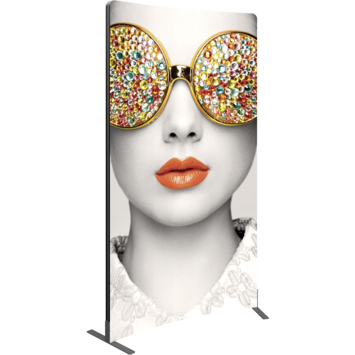 Vector Frame Curved 02 Fabric Banner Display