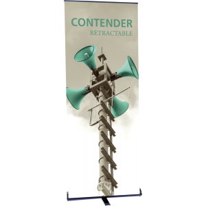 Contender Standard Retractable Banner Stand