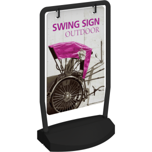 Swing Outdoor Sign
